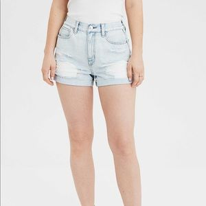 American Eagle distressed high-rise short